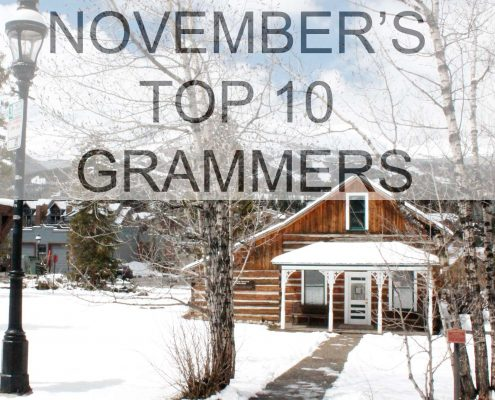 November's Top 10 Instagram photos