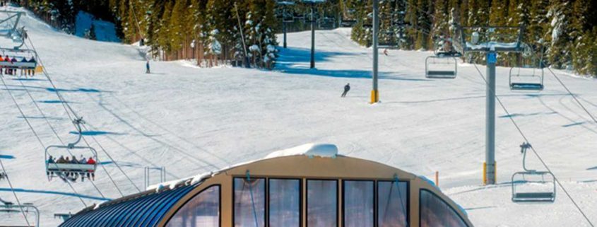 Peak 8 at Breckenridge ski resort