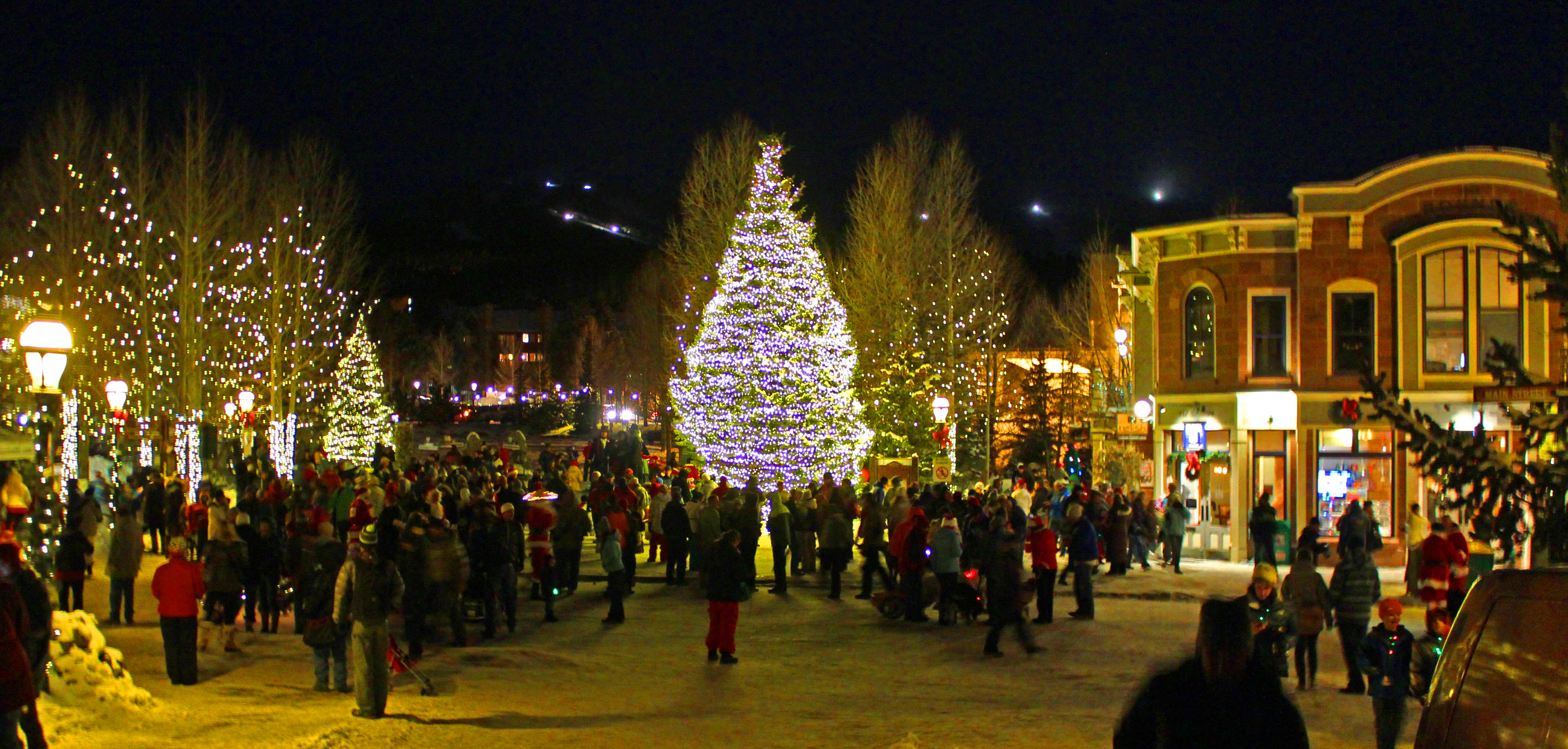 Breck's Lighting Ceremony
