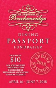 Spring Dining Passport @ Breckenridge
