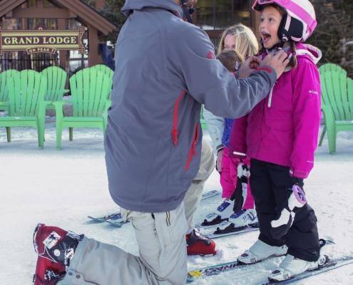 Getting Ready to Ski at Breckenridge